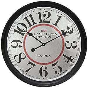 Amazon.com: Infinity Instruments Kensington Station Clock ...