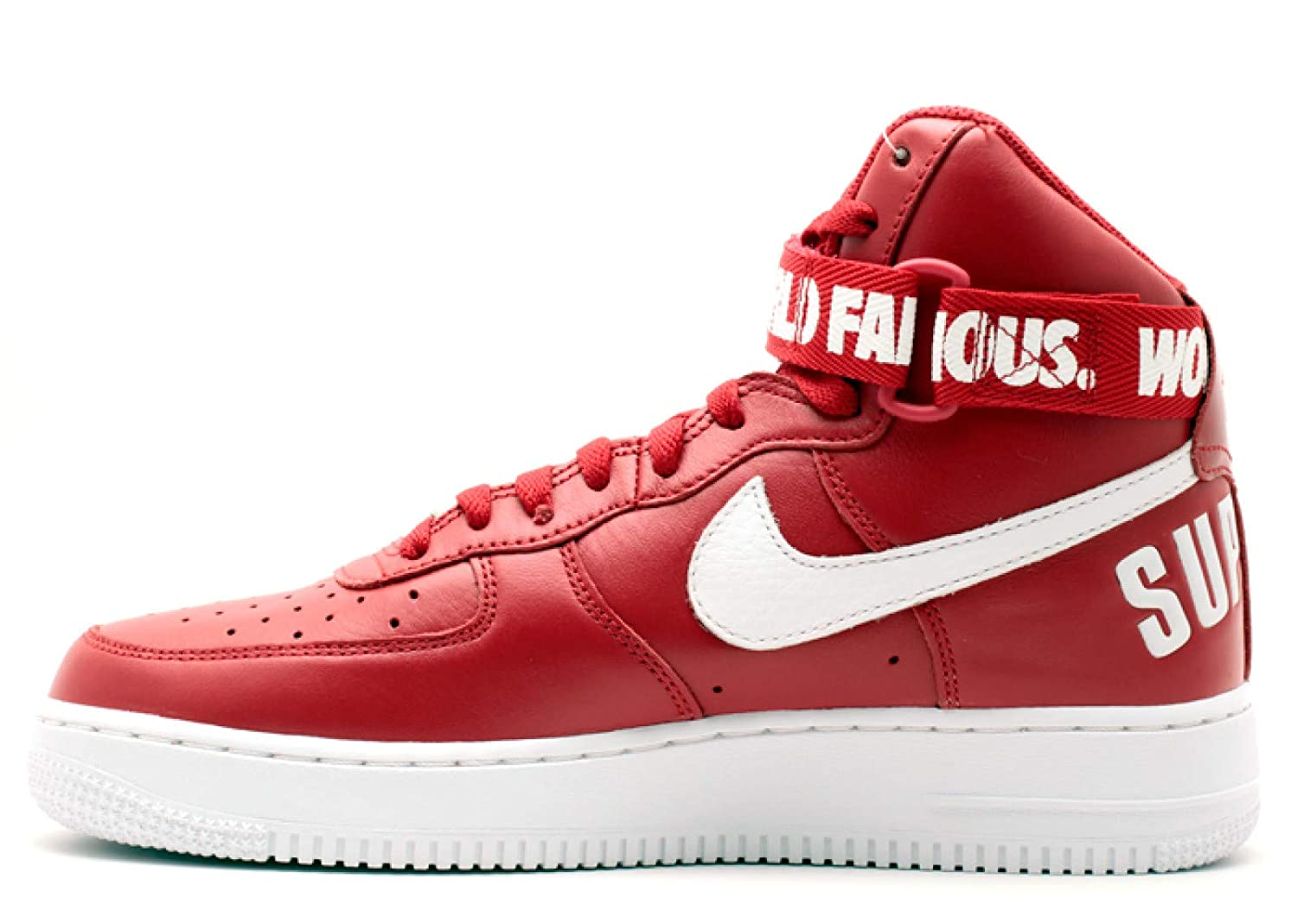 Amazon com | Nike Mens Air Force 1 High Supreme SP Leather