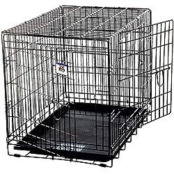 Little Giant Pet Lodge Large Double Door Wire Pet Crate