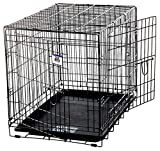 LITTLE GIANT Pet Lodge Large Double Door Wire Pet Crate