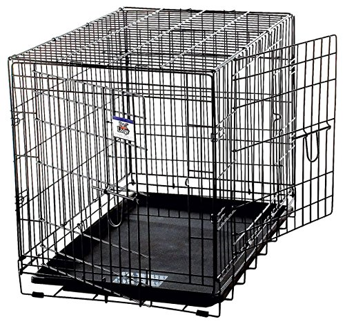 LITTLE GIANT Pet Lodge Large Double Door Wire Pet Crate by LITTLE GIANT (Image #1)