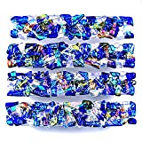 Dichroic Glass Drawer Pull Handle Custom Made Abstract Mosaic - Cabinet Pulls or Knobs - 1'' / 30mm - Cobalt Blue Turquoise Aqua Teal Emerald Green Gold Copper Clear Accents Fused Glass