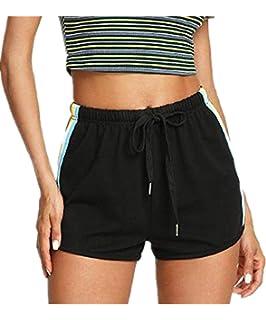b9e1d6dc9fe9 TWIFER Mädchen Yoga Shorts Damen Sommer Elastische Sport Shorts Gym Hosen
