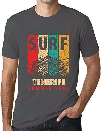 One in the City Hombre Camiseta Vintage T-Shirt Gráfico Surf ...