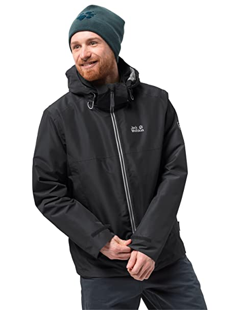 for whole family online here sports shoes Jack Wolfskin Men's North Fjord Waterproof Insulated 3-in-1 Jacket