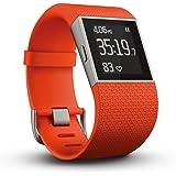 Fitbit フィットビット フィットネス スーパー ウォッチ Surge GPS内蔵 運動 睡眠 健康管理 活動量計 アクティブトラッカー Tangerine タンジェリン Sサイズ 【日本正規品】 FB501TAS-JPN
