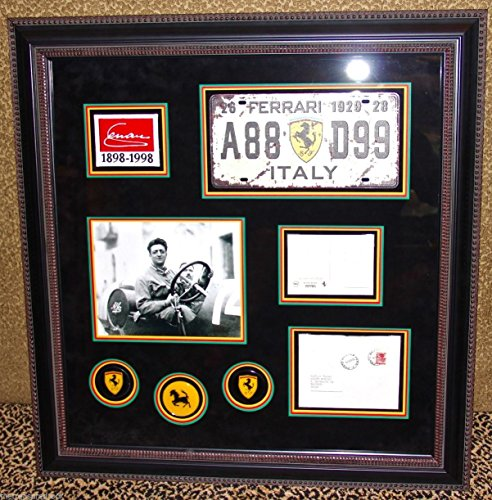 Super Rare ENZO FERRARI signed autographed letter postcard Modena 1966 PSA - Enzo Signature Ferrari