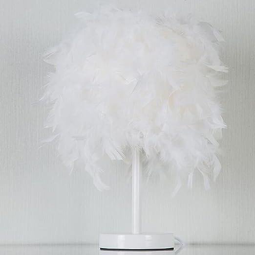 Lámpara de mesa Lámpara Moderna De Pluma De Moda Minimalista Sala ...