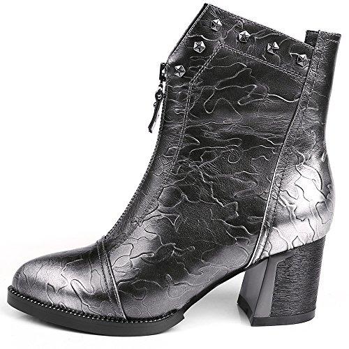 Nine SevenAnkle-boots - Botas mujer Gun color