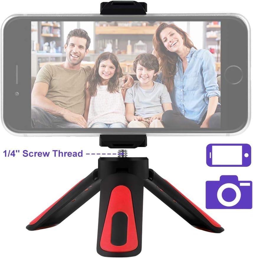 ZHIYUN Mini trípode de sobremesa, compacto y flexible, mini trípode para smartphone con cámara: Amazon.es: Electrónica
