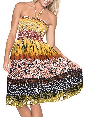 halter animal print dress - 1