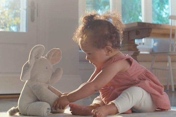 Gund 会唱歌会躲猫猫的小象玩具 30厘米 5.8折$23.21 海淘转运到手约¥195 中亚Prime会员凑单免运费直邮到手约¥189