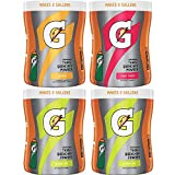 Gatorade Thirst Quencher Powder Variety Pack, 18.4 oz, 4 Canisters