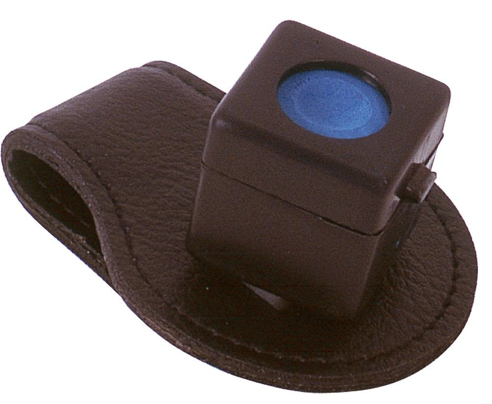 Kreidehalter Magnetclip Leder (ohne Inhalt) Billard Knöchel