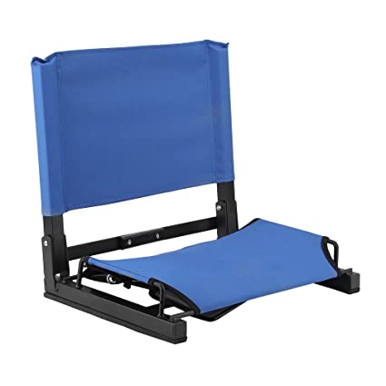 Stadium Seats Bleacher Seat Chairs With Backs And Cushion Folding Portable Stadium Chair Game Changer Stadium Seats Bleacher Seat Chairs Extra Wide