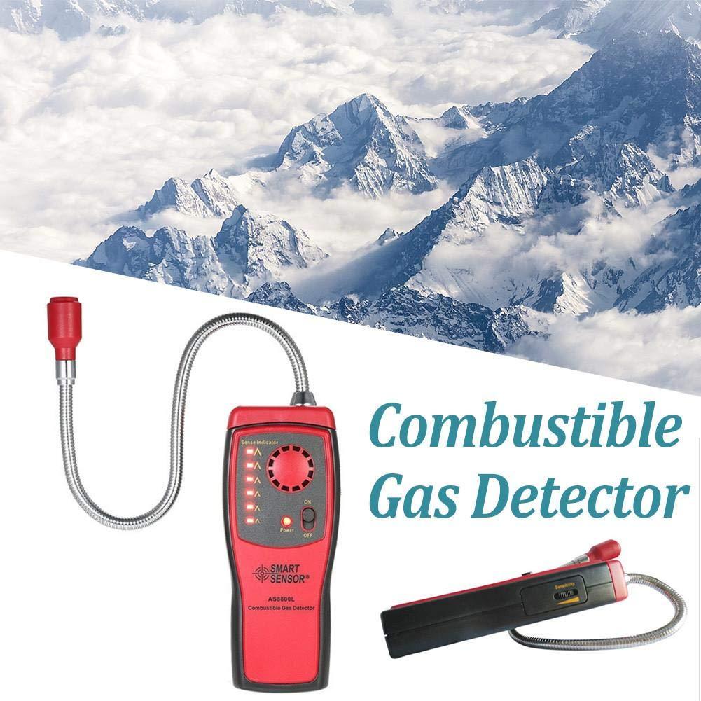 Biback Analizador de Gases Detector de automóviles Automotriz Combustible Gas Fugas Probador Ubicación de Fugas de Gas Determinar Herramienta de ...