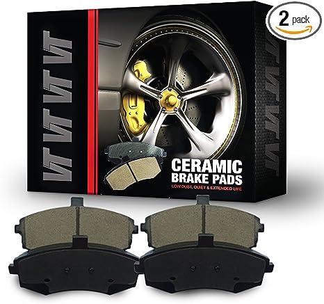 VTDC000059 Front and Rear Premium Quality Ceramic Brake Pads Kit