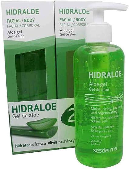 Gel Aloe Hidraloe Pack 2X1 2 x 250 ml. de Sesderma: Amazon.es: Belleza