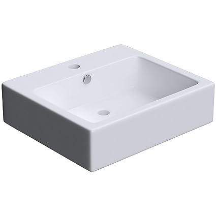 Lavabo vasque a poser ou monter au mur evier design Bruxelles 712 53 ...