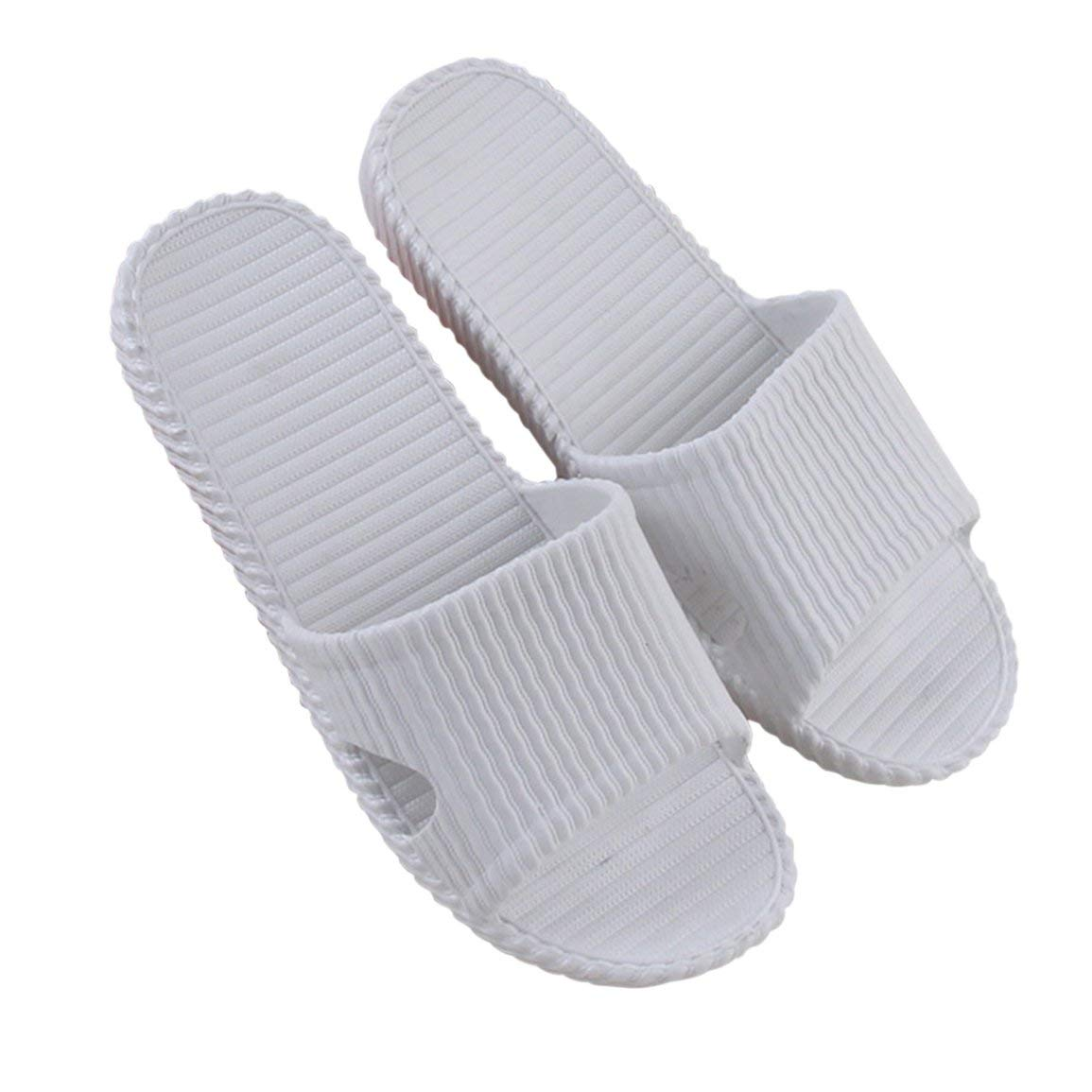 Fantasyworld Unisexe Femmes Hommes Chaussures de Bain Skidproof Sandales Plates /ét/é Accueil Salle de Bain Pantoufles D/ésinvoltes Int/érieur Plage Chaussons