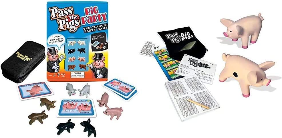 Pass The Pigs (Party Edition) (Colors May Vary) & Pigs
