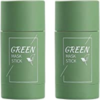 2 Pack Green Tea Purifying Clay Stick Mask, Exfoliating Mask, Removes Blackheads And Deep Cleansing Oil Control And Anti…