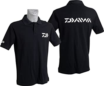 Daiwa Polo Black, XL: Amazon.es: Deportes y aire libre