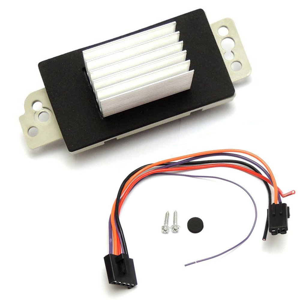 Chevy Silverado Blower Motor Resistor Gmc Sierra Ac Welcome I Have A Picture For Hvac Wiring Anything Else Heater Control Module 19260762 89018778 Automotive