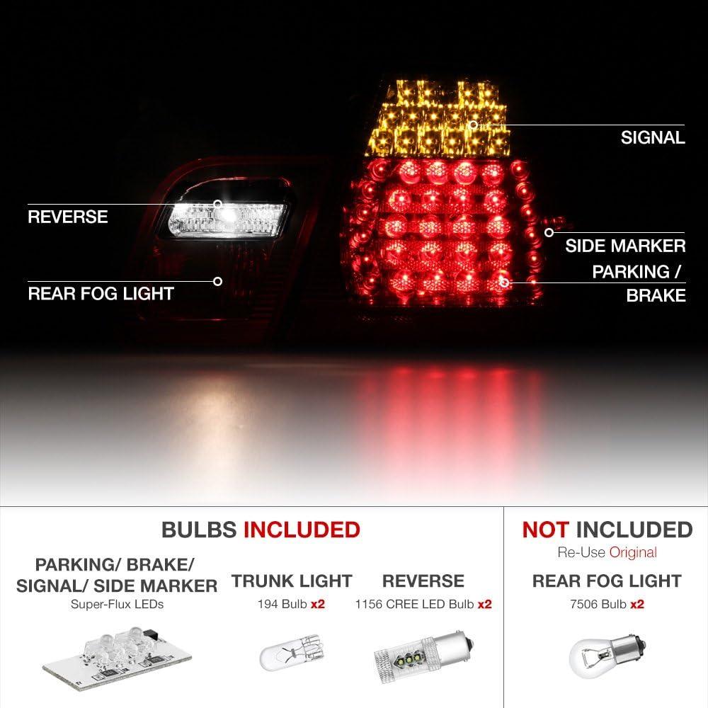 BMW Genuine White Rear Trunk Lid Light//Lamp Right E46 3 Series 63216910538