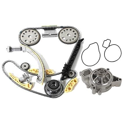 MOCA Timing Chain Kit Water Pump for 2000-2011 Chevrolet Cobalt HHR &  Pontiac G5 & Saturn Sky Aura Vue 2 2L 2 4L L4 DOHC FB