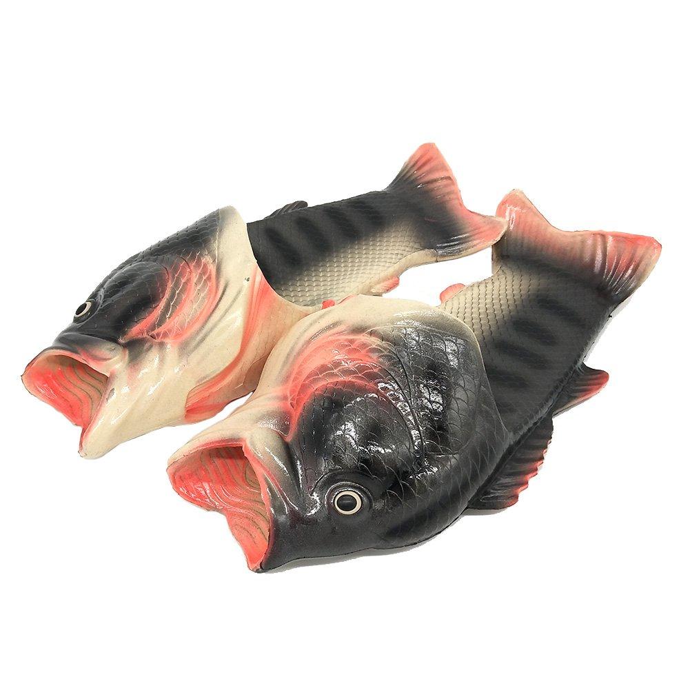 FiveStoresCity Animal Fish Slippers Beach Slides Sandals Men Women Kids Summer Non-Slip Flip Flops Gag Gifts