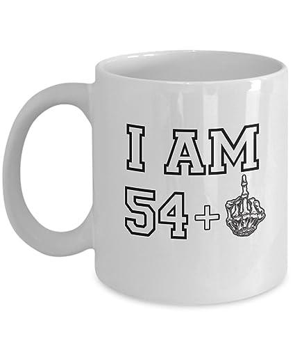 Happy 55th Birthday Mug 1962 Middle Finger
