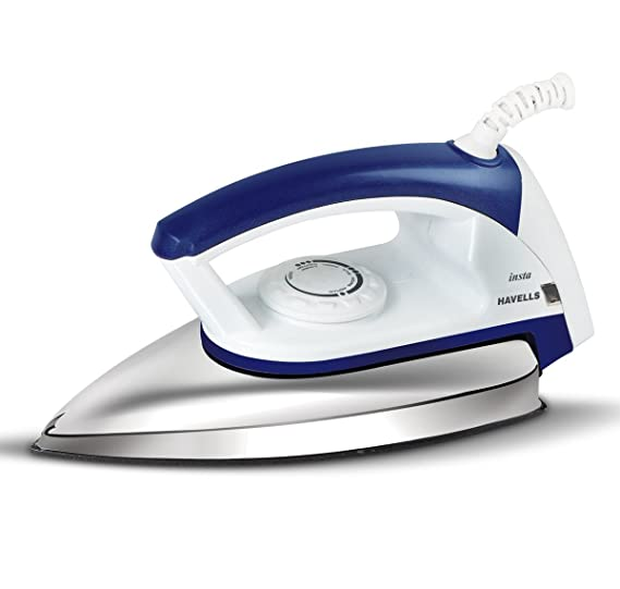 Havells Insta 750-Watt Dry Irons (Blue)
