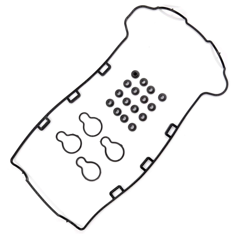 ROADFAR Valve Cover Gasket Set Kit for Chevrolet Cobalt Malibu Pontiac Saturn Oldsmobile 2.2L 00 01 02 03 04 05 06