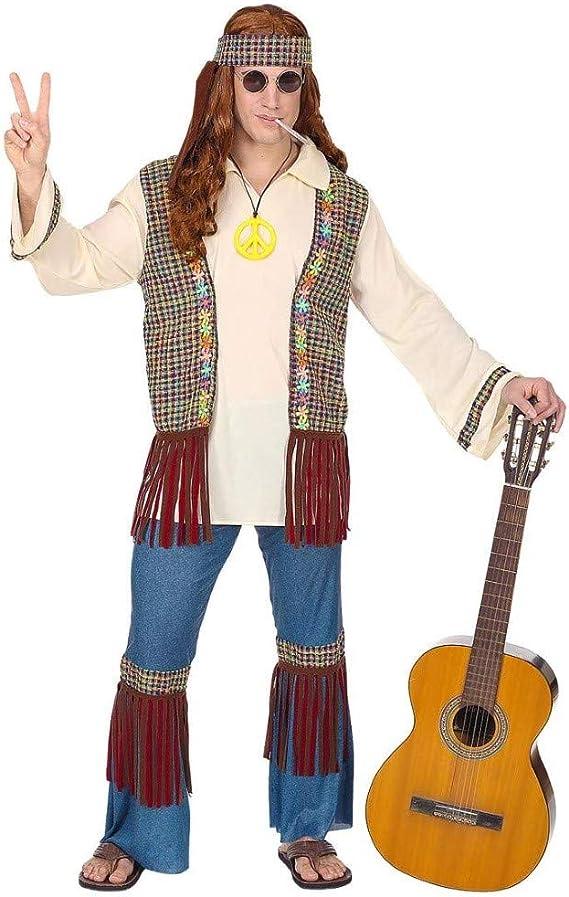 WIDMANN Disfraz de Hippie Reggae para Hombre M: Amazon.es ...