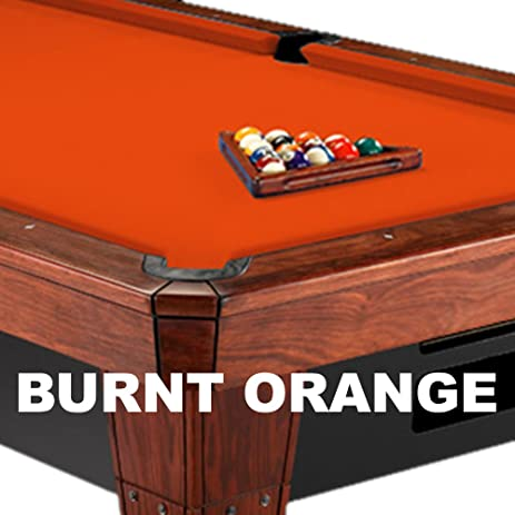 12u0027 Simonis 860 Burnt Orange Pool Table Cloth Felt