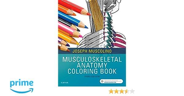 Musculoskeletal Anatomy Coloring Book 9780323477314 Medicine Health Science Books Amazon