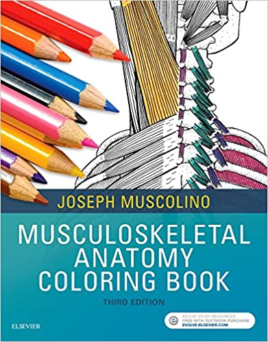 Musculoskeletal Anatomy Coloring Book 3e 3rd Edition