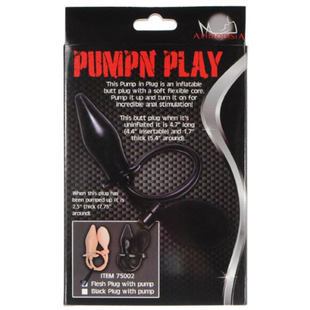 Plug dilatador anal inflable PUMPN PLAY: Amazon.es: Salud y cuidado personal