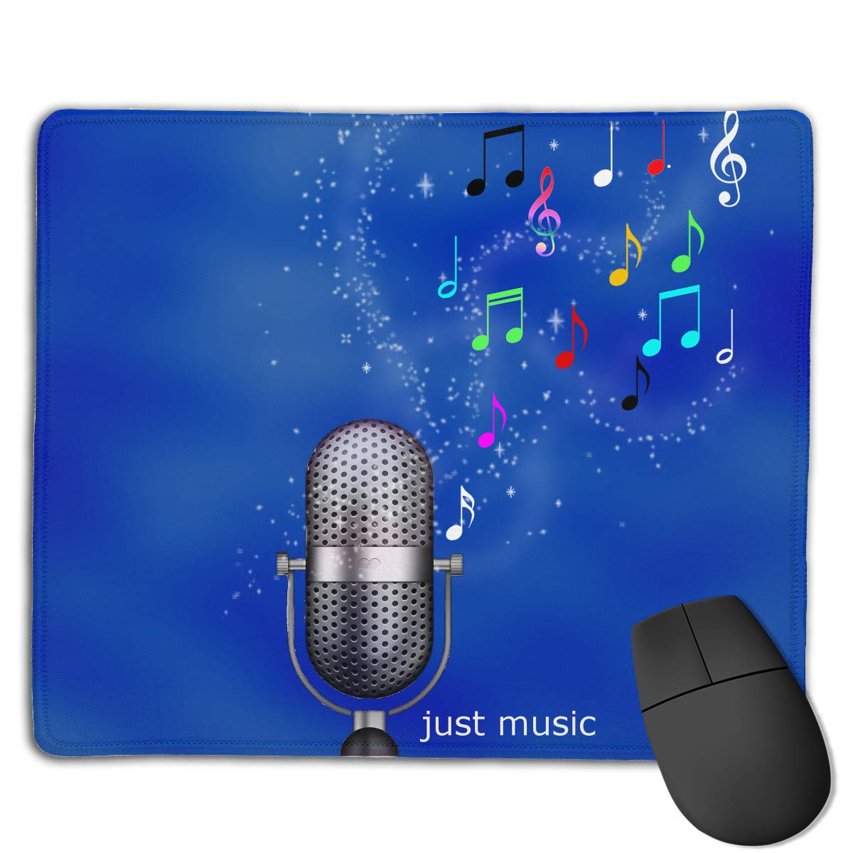 Non-Slip Mouse Pad Rubber Mousepad Music Saves-My-Soul Print Gaming Mouse Pad 18 * 22 cm yhj