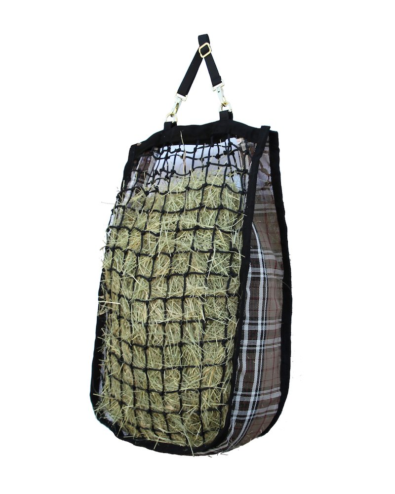 Kensington Slow Feed Mesh Net Feeder for Horses — Designed to Hold Two Large Flakes —  Reduce Horse Feeding Anxiety and Behavioral Issues
