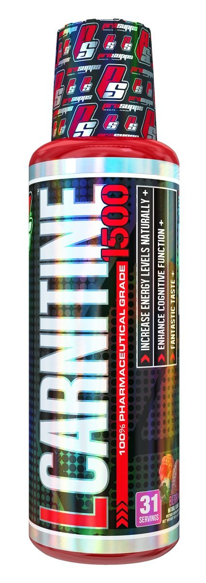 Pro Supps L-Carnitine 1500 Liquid Fat Burner, Metabolic Enhancer (Berry Flavor), 31 Servings, Torch Fat and Get Ripped