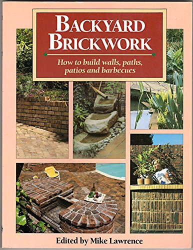 Cheap Buildings backyard brickwork how to build walls paths patios and