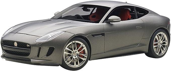 Autoart 73654 Jaguar F Typ R 2015 Maßstab 1 18 Grau Matt Spielzeug