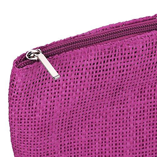 Cabas Vintage Pochette Femme La Besace Voyage Sac Bandouliere Seau Tissé Sachet Champêtre À Plage Main Bohême Sacoche Pink Hot Courses De xxOvrSw