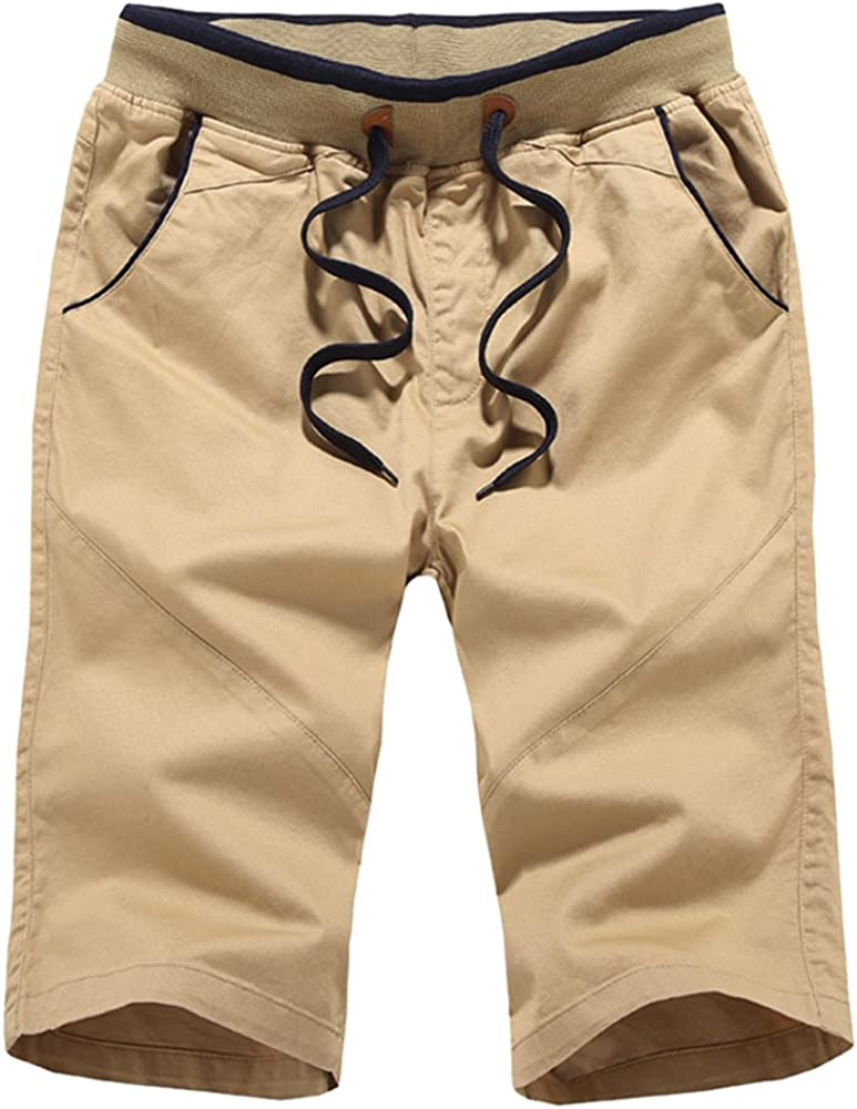 Youthny Short Homme Sport en Coton Casual Respirant Transpiration Large