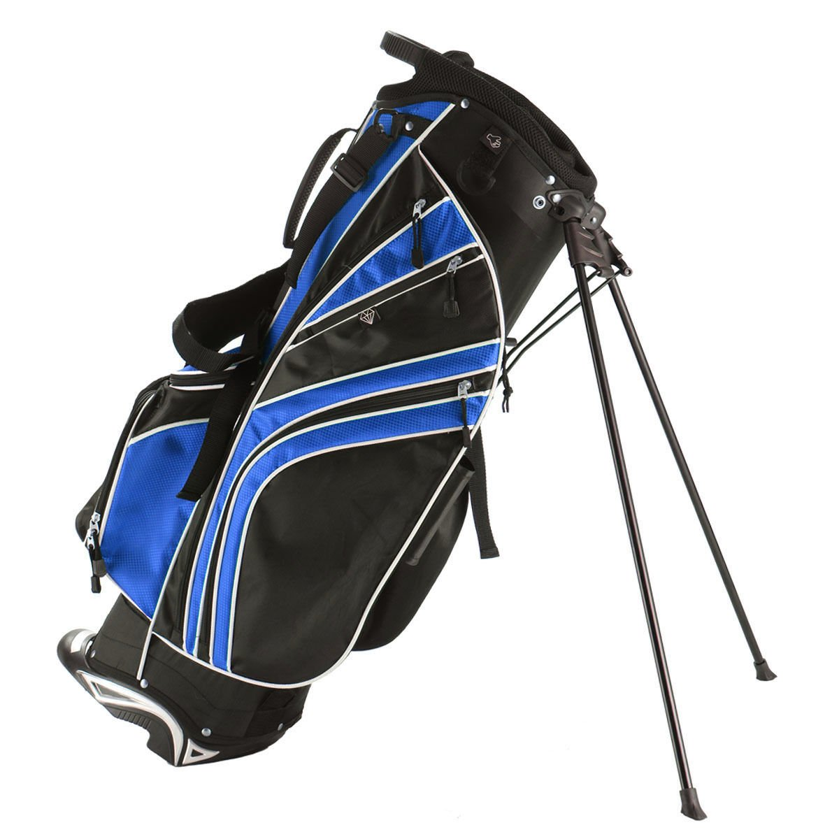 Tangkula Golf Stand Bag w 6 Way Divider Carry Organizer Pockets Storage
