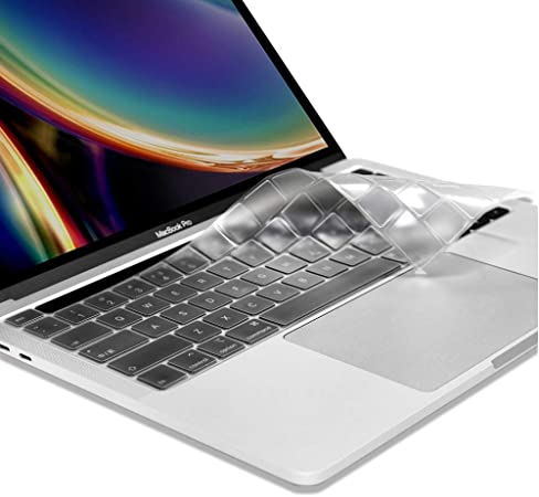 Ultra Thin Clear Keyboard Cover for New MacBook Pro 16 inch 2019 Release A2141 with Touch Bar /& Touch ID Keyboard Skin Protector