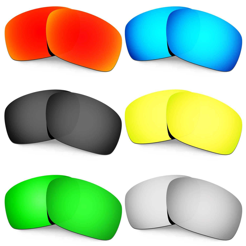 Hkuco 交換用レンズ For Oakley Scalpel サングラス  レッド/ブルー/ブラック/ゴールデン/チタンカラー/グリーン B073BHK5CK