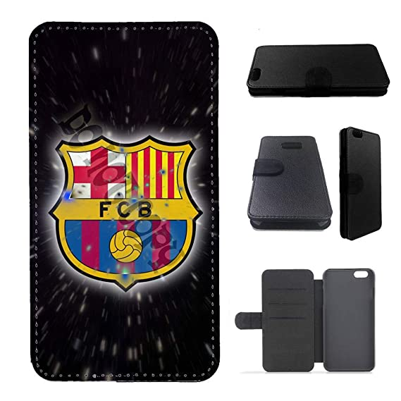 the latest 3d15e c32cc Amazon.com: Wallet case fc Barcelona iPhone 5 case iPhone 5s case ...